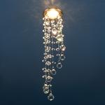 Изображение Встраиваемый потолочный светильник 2028 золото/прозрачный (GD/Clear)