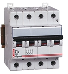Изображение 404072 Автомат TX3 4п 25A 6kA типа C Legrand
