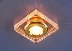Изображение Точечный светильник 1058 CLEAR/GD (зеркальный / золото)