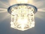 Изображение Точечный светильник 499 CH/CLEAR (хром / прозрачный)