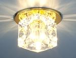 Изображение Точечный светильник 499 GD/CLEAR (золото / прозрачный)