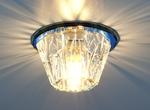 Изображение Точечный светильник 6180 BL (зеркальный / синий)