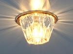 Изображение Точечный светильник 6180 PK (зеркальный / коричневый)