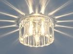 Изображение Встраиваемый потолочный светильник 8449 CH/WH (хром / прозрачный)