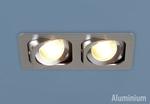 Изображение Алюминиевый точечный светильник в стиле Техно 1021/2 CH (хром)
