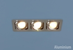 Изображение Алюминиевый точечный светильник в стиле Техно 1021/3 CH (хром)