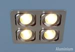 Изображение Алюминиевый точечный светильник в стиле Техно 1021/4 CH (хром)