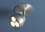 Изображение Встраиваемый светодиодный светильник 8803 LED хром (CH)