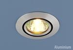 Изображение Алюминиевый точечный светильник 5106 сатин. серебро/черный