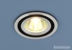 Изображение Алюминиевый точечный светильник 5305 хром/черный