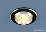 Изображение Алюминиевый точечный светильник 5910 черный/хром