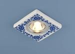 Изображение Керамический светильник 9034 керамика бело-голубой (WH/BL)