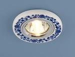 Изображение Керамический светильник 9035 керамика бело-голубой (WH/BL)
