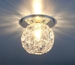 Изображение Светильник точечный 1002 SL (серебро)
