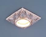 Изображение Светильник точечный 4066 айвори / серебро (CH)