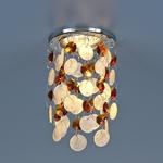 Изображение Встраиваемый точечный светильник 7097 хром/янтарный (CH/WH/T)