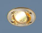 Изображение Точечный светильник 104A CF SS/G (сатинированное серебро / золото)