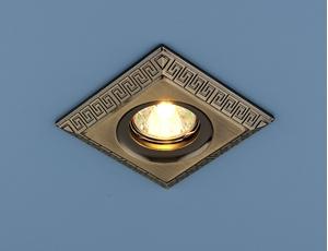 Изображение Точечный светильник 120091 SB (бронза)