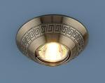 Изображение Точечный светильник 120092 SB (бронза)