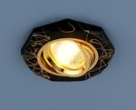 Изображение Точечный светильник 2040 BK/GD (черный/золото)
