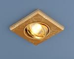 Изображение Точечный светильник квадратный 2080 GD (золото)