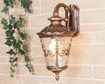 Изображение Diadema D черное золото уличный настенный светильник