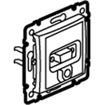 Изображение Розетка HD 15+ гнездо для аудиосигналов (774182) слоновая кость Valena
