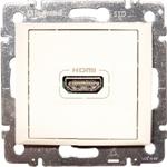 Изображение Розетка HDMI для аудио-видеоустройств (770085) белая Valena