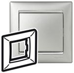 Изображение Рамка 1-я Legrand Valena Алюминий серебро (770351)