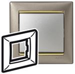 Изображение Рамка 1-я Legrand Valena Титан золото (770361)
