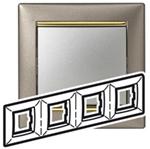 Изображение Рамка 4-я Legrand Valena Титан золото (770364)