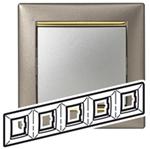 Изображение Рамка 5-я Legrand Valena Титан золото (770365)