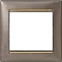 Изображение для категории Рамки Титан/Золотой штрих