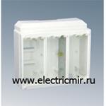Изображение SC100-9 Коробка CIMA для поверхностного монтажа в сборе, на 1 CIMA-модуль, белый Simon Connect