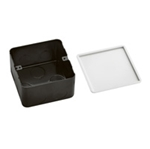 Изображение 54001 Монтажная коробка для выдвижного розеточного блока на 4 модуля - металл Legrand