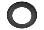 Изображение Встраиваемый потолочный светодиодный светильник DLS 155 (slim) 12W 6500K черный (BK)