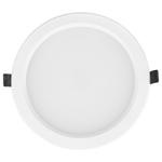 Изображение Встраиваемый потолочный светодиодный светильник DLS173 15W 4200K белый (WH)