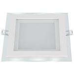 Изображение Встраиваемый потолочный светодиодный светильник DLKS160 12W 4200K белый