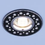 Изображение Алюминиевый точечный светильник 2008 MR16 BK черный