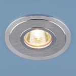 Изображение Алюминиевый точечный светильник 2016 MR16 SCH сатин хром