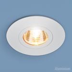 Изображение Алюминиевый точечный светильник 2100 MR16 WH белый