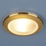 Изображение Влагозащищенный точечный светильник 1080 MR16 GD золото