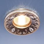 Изображение Точечный светильник 120065 MR16 SB бронза