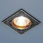 Изображение Точечный светильник 120071 MR16 BK/SL черный/серебро