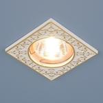 Изображение Точечный светильник 120071 MR16 WH/GD белый/золото