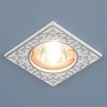 Изображение Точечный светильник 120071 MR16 WH/SL белый/серебро