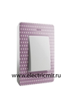 Изображение 8200610-213 Рамка на 1 пост, розовый, точки, 82 Detail