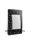 Изображение 8200610-222 Рамка на 1 пост, черный, звезды, 82 Detail