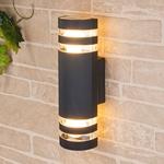 Изображение Настенный уличный светильник Techno 1443 черный