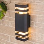 Изображение Настенный уличный светильник Techno 1449 черный